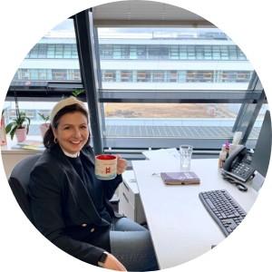 nushu brains: Stefanie Brug, Finance Business Process Manager
